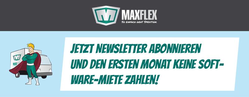 Jetzt Newsletter abonnieren und den ersten Monat keine Software-Miete zahlen!